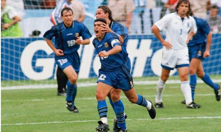 Todos los goles de Maradona en la Selección