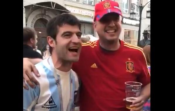 El relato a dúo del gol de Maradona a los ingleses